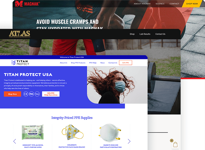 e commerce websites collection
